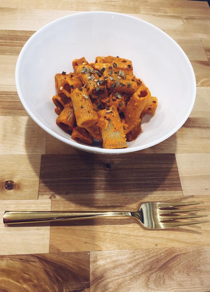 Spicy Rigatoni